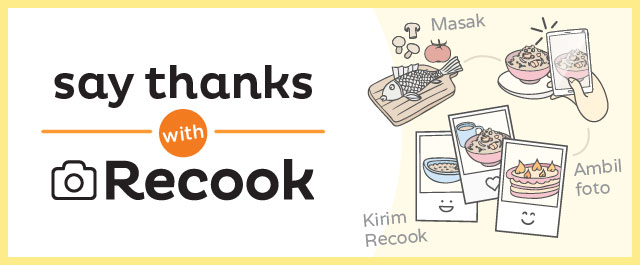 Say Thanks with Recook
