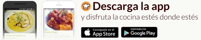 Descargar la App Cookpad ¡Es gratis!